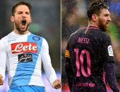 Dries Mertens vs Lionel Messi